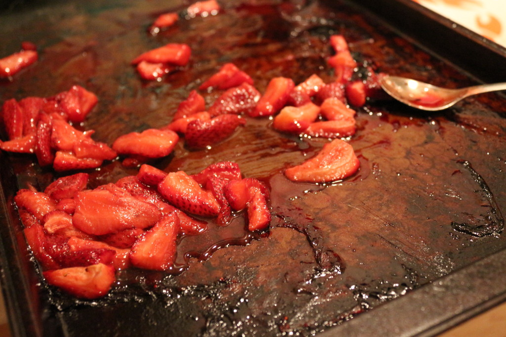 Melted Strawberries