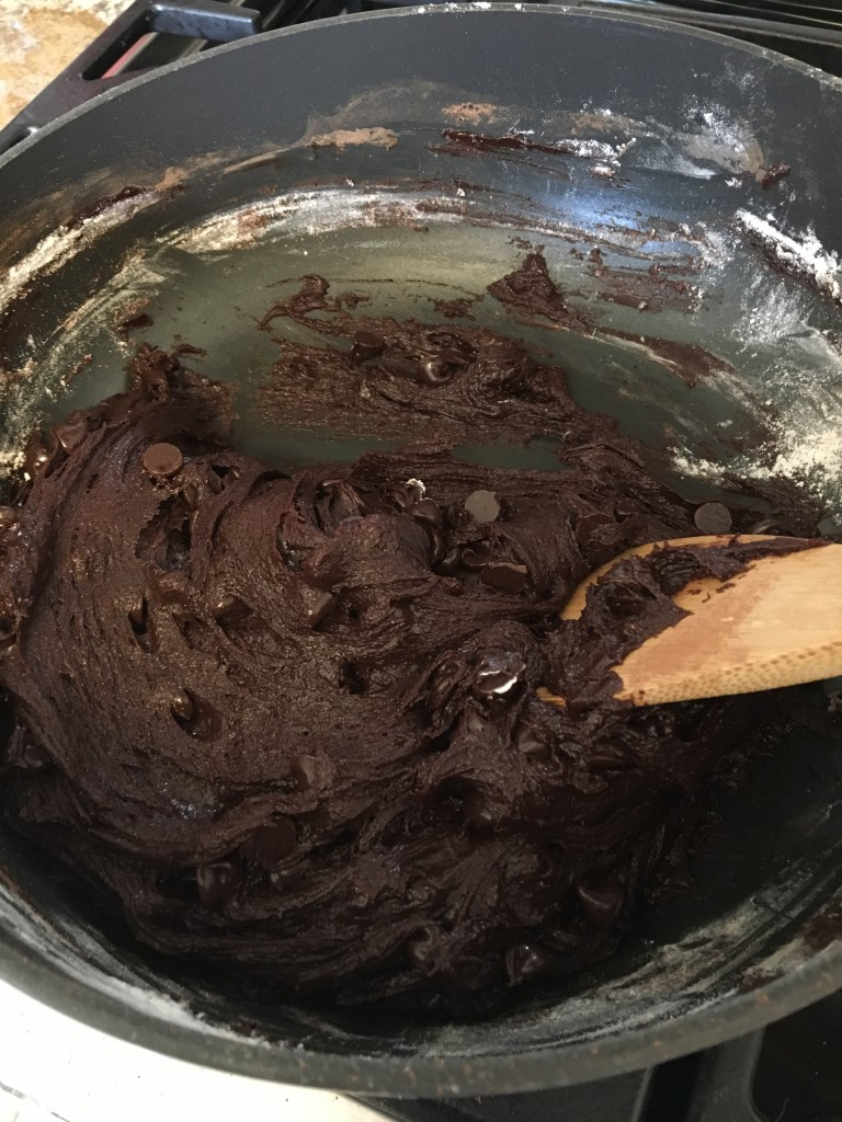 Brownie Cake Cookie Batter